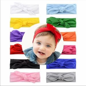 Other - Baby/Toddler fabric knot headbands